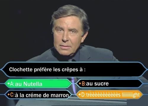 """Chandeleur """"Pour Clochette !"""""""
