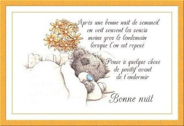 Bonne Nuit à vous tous...