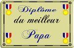 Diplômes - Pour Papa -