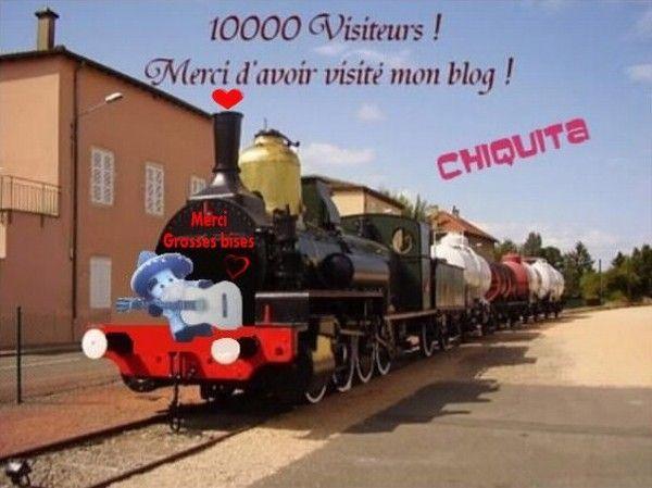 Youpiiii... merci pour vos 10.000 visites !!!