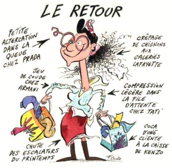 Mercredi 6 Janvier 2010 : C'est les Soldes !!!