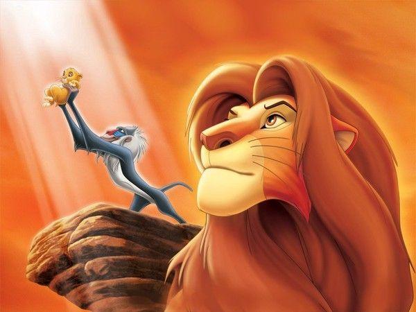 Le roi lion...