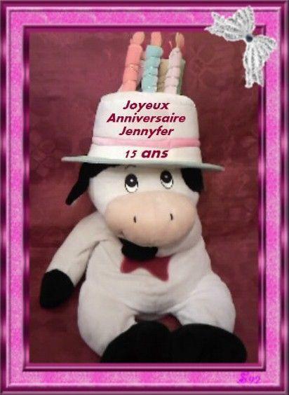 Joyeux Anniversaire Jennyfer !!!