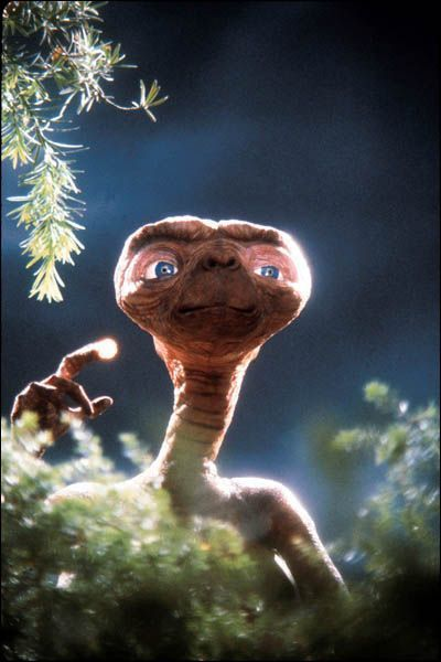 E.T L'Extra-Terrestre !