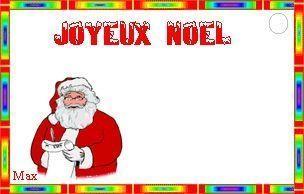 Noel Lettres Et Etiquettes